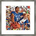 University Of Kentucky Anthony Davis, 2012 March Madness Sports Illustrated Cover Framed Print