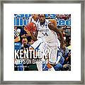 University Of Kentucky Michael Kidd-gilchrist, 2012 Ncaa Sports Illustrated Cover Framed Print