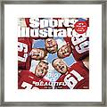 University Of Wisconsin Offensive Line, 2018 College Sports Illustrated Cover Framed Print