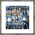 Us Alpine Skiing Medalists, 2010 Winter Olympics Sports Illustrated Cover Framed Print