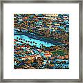 View Of Molteno Reservoir - Cape Town Framed Print