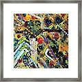 Who What Where Framed Print