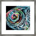 Winter Tail Just Chillin Framed Print