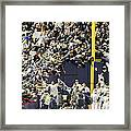 Yankees Fans Reach Out To Touch Framed Print