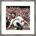 Hunter Pence Framed Print