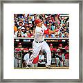 Mike Trout Framed Print