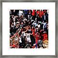 Kawhi Leonard Framed Print