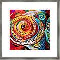 Acidfish Junior Framed Print
