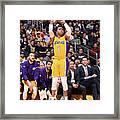 D'angelo Russell Framed Print