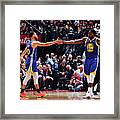 Draymond Green and Stephen Curry Framed Print