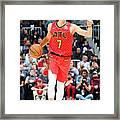 Jeremy Lin Framed Print