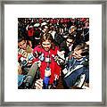Johnny Damon Framed Print