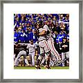 Madison Bumgarner and Buster Posey Framed Print