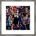 Reggie Miller Framed Print