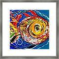 San Antonio Fish Framed Print