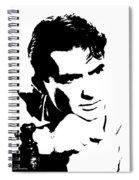 # 1 Gregory Peck Portrait. Spiral Notebook