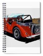 Morgan 4 Plus 4 1961 Spiral Notebook