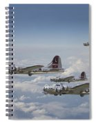 381st Group Outbound Spiral Notebook