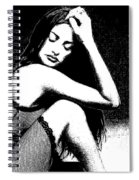 # 5 Penelope Cruz Portrait. Spiral Notebook