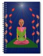 849 - Inner  Balance   Spiral Notebook