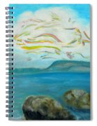 A Cloud Over The Sea Spiral Notebook