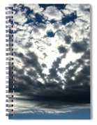 A Glorious Cloudscape Spiral Notebook