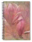 A Peek Of Spring Spiral Notebook