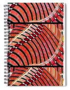 Abstract Fusion 204 Spiral Notebook