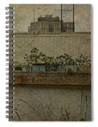 Across The Schuylkill River In Philadelphia - Pennsylvania - Usa Spiral Notebook
