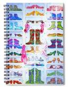 Alaska Berry Fairy Shoon Spiral Notebook