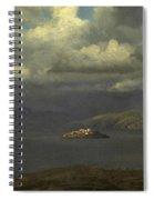 Alcatraz San Francisco Bay Spiral Notebook
