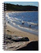 Along The Shore Spiral Notebook