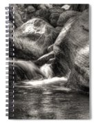 Andreas Creek Waterfall Spiral Notebook