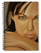 Angelina Jolie 2 Spiral Notebook