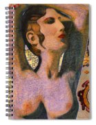 Aphrodite And Ancient Cyprus Map Spiral Notebook