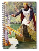 Arthur And Excalibur Spiral Notebook