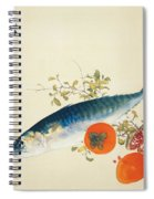 Autumn Fattens Fish And Ripens Wild Fruits Spiral Notebook