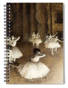 Ballet Rehearsal On Stage Spiral Notebook