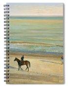 Beach Dialogue Dunwich Spiral Notebook