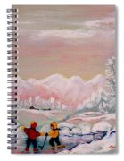 Beautiful Winter Fairytale Spiral Notebook