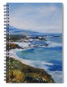 Big Sur Coastline Spiral Notebook