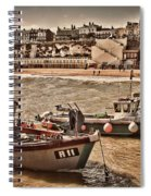 Boats At Broadstairs Spiral Notebook