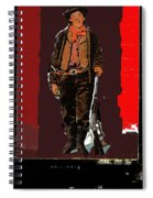 Bogus Drawing Photo Of Billy The Kid Ft. Sumner New Mexico C.1879-2013 Spiral Notebook