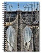 Brooklyn Bridge 3 Spiral Notebook