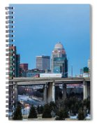 Busy City Spiral Notebook