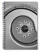 @ - Bw Spiral Notebook