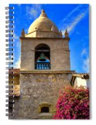 Carmel Mission Spiral Notebook