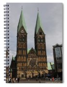 Cathedral Bremen - Germany Spiral Notebook