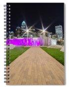 Charlotte Nc Usa - Charlotte Skyline Spiral Notebook