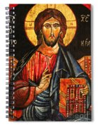 Christ The Pantocrator Icon II Spiral Notebook